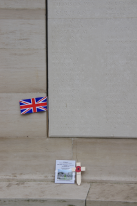 Black Watch missing are listed on Panels 78 - 83. LOOS MEMORIAL.